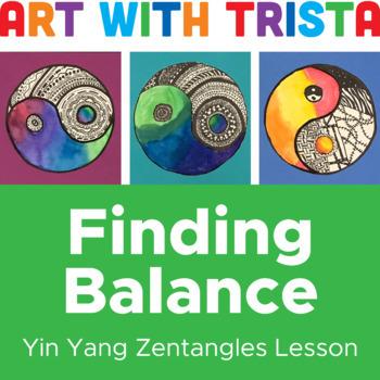 Finding Balance Yin Yang Zentangles
