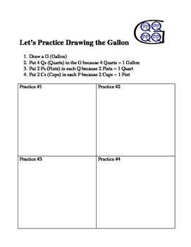 Finding Capacity using Gallons, Quarts, Pints, and Cups