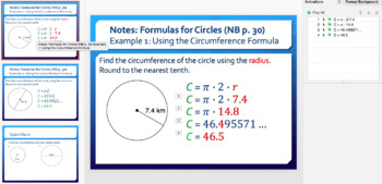 Finding Circumferences