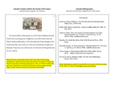Finding & Citing Sources - MLA Style - Worksheet & Sample Bibliography