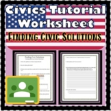 Finding Civic Solutions Floridastudents.org Tutorial Works