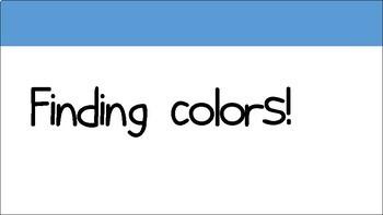 Finding Colors ESL/EFL