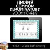 Finding Common Denominators - Boom Cards