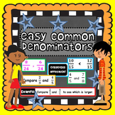 Easy Common Denominators