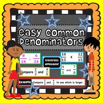Easy Common Denominators
