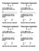 Finding Common Denominators & Generating Equivalent Fractions