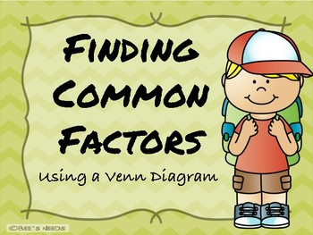 Finding Common Factors