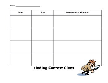 Finding Context Clues