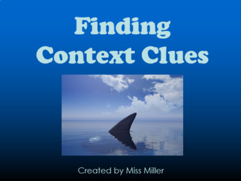 Finding Context Clues PowerPoint
