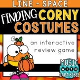 Finding Corny Costumes (Line/Space) an Interactive Music C
