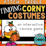 Finding Corny Costumes (Treble) an Interactive Music Conce
