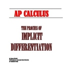 AP CALCULUS: THE PROCESS OF IMPLICIT DIFFERENTIATION