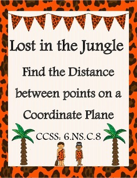 Finding Distance Between Points on a Coordinate Plane - CCSS: 6.NS.C.8
