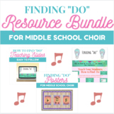 """Finding """"Do"""" Key Signatures Bundle for Middle School Choir"""