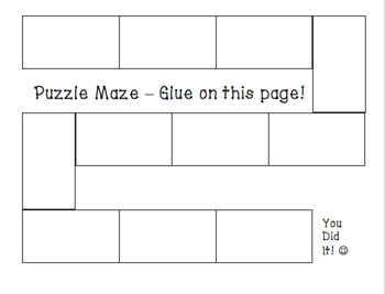 Finding Domain and Range from a graph SET NOTATION Puzzle Maze