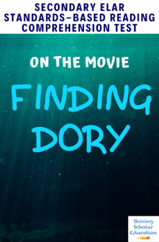 Finding Dory 2016 Movie Guide Analysis Multiple Choice Quiz Test