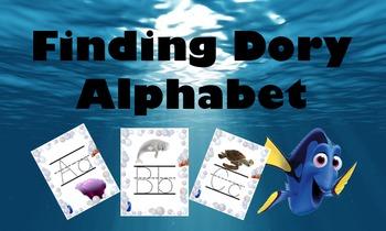 Finding Dory Alphabet