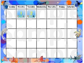 Finding Dory Calendar Pack