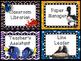 Finding Dory/Nemo Classroom Jobs - EDITABLE