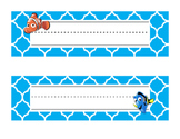 Finding Dory Desk Tags