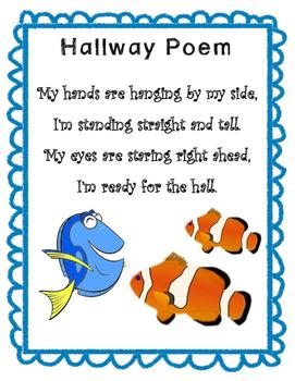 Finding Dory Hallway Poem