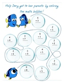 Finding Dory Math for First Grade!!