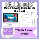 Finding Dory Movie Guide Questions: Environmental/Biology/Ecology