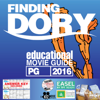 Finding Dory Movie Guide | Questions | Worksheet (PG - 2016)