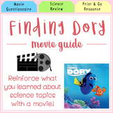 Finding Dory Movie Questionaire