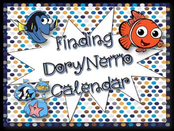 Finding Dory/Nemo Calendar