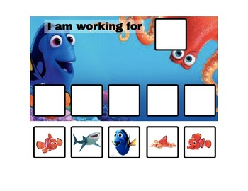 Finding Dory Token Board - 2 options!