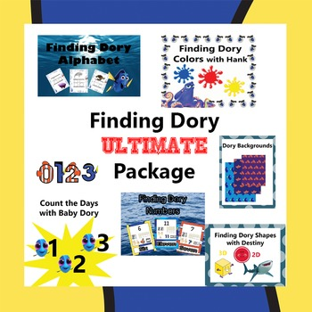 Finding Dory Ultimate Package
