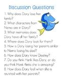 Finding Dory Unit Study