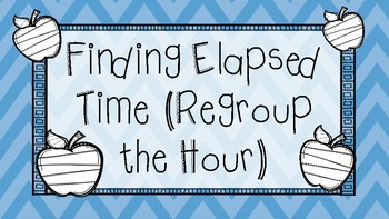 Finding Elapsed Time Task Cards