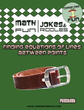 Finding Equations of Lines between points