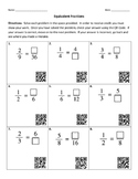 Finding Equivalent Fractions with QR Codes