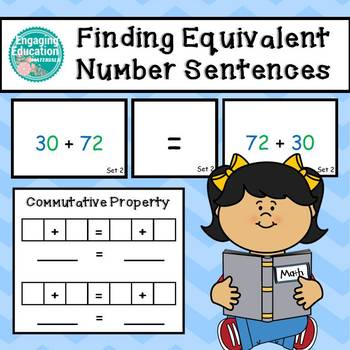 Finding Equivalent Number Sentences using the Commutative