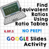 Finding Equivalent Ratios Using Ratio Tables - Google Slid
