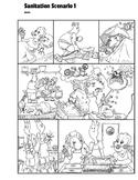 Finding Errors Comic Sanitation Scenario 1; Culinary FACS Health Safety SPED ESL