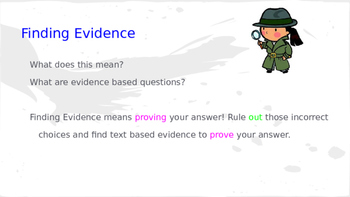 Finding Evidence in Reading