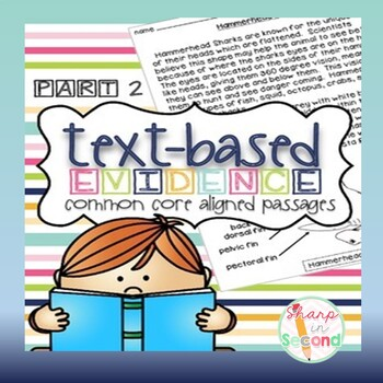 Finding Text-Based Evidence in Reading Passages PART 2 {Co