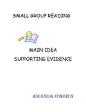 Finding Evidence to Support the Main Idea Lesson Plan