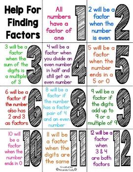 Finding Factors