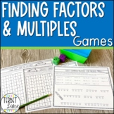 Finding Factors and Multiples Games