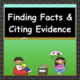 Improve Comprehension by Finding Facts and Citing Evidence