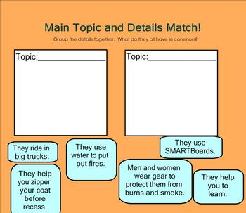 Finding Facts and the Main Topic Review Lesson