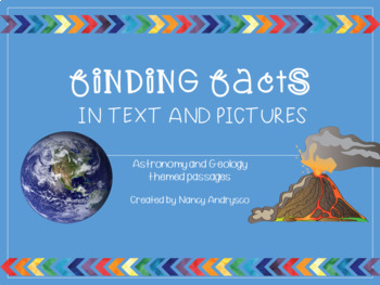 Finding Facts in Text and Pictures- Astronomy and Geology Themes!