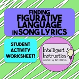 Finding Figurative Language in Song Lyrics