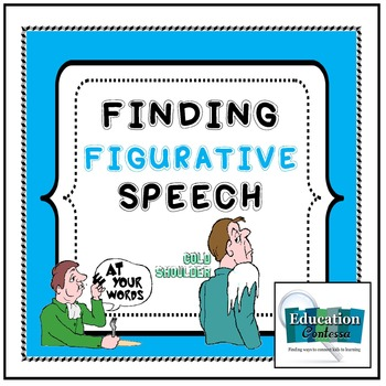 Finding Figurative Speech:  Lessons and Foldables