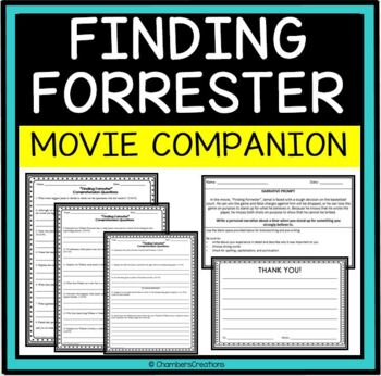 finding forrester movie guide questions by chambers creations tpt finding forrester movie guide questions